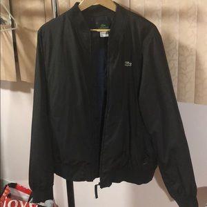 Men Lacoste Bomber Jacket
